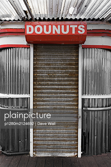 Donut shop - p1280m2124692 by Dave Wall