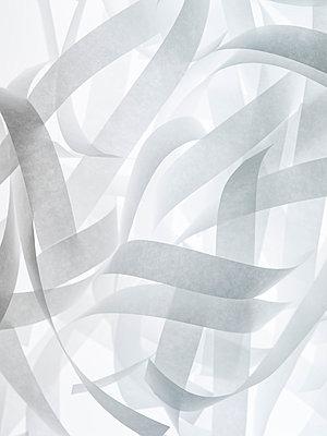 Paper stripes - p401m1057331 by Frank Baquet