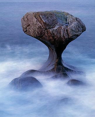 Rock Formations At The Coast; Kannesteinen; Norway - p816m913836 by Bård Løken