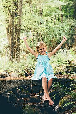 Waldausflug - p1086m1056028 von Carrie Marie Burr