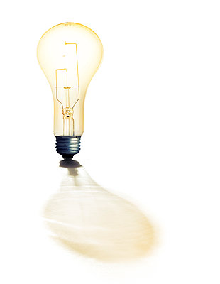 Lightbulb - p394m1154711 by Stephen Webster