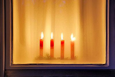 Weihnachtsbeleuchtung - p7150174 von Marina Biederbick