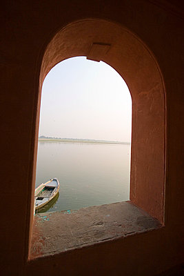 The river Ganges - p6000046 by Laura Stevens