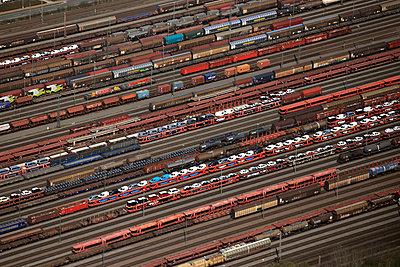 Rangierbahnhof - p1016m1071168 von Jochen Knobloch