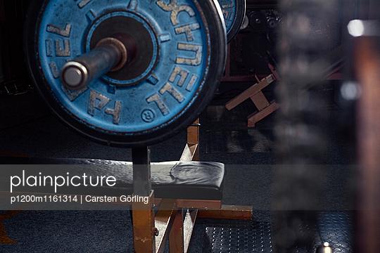 Bodybuiling-Studio - p1200m1161314 von Carsten Görling