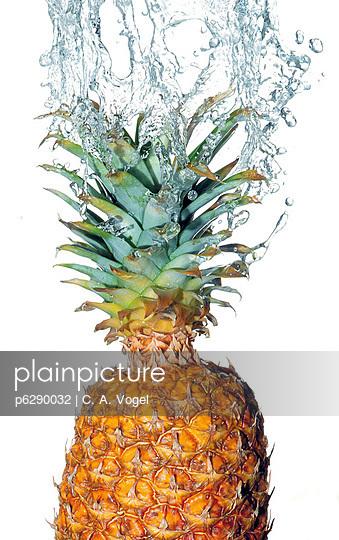 Ananas mit Wasser - p6290032 von C. A. Vogel