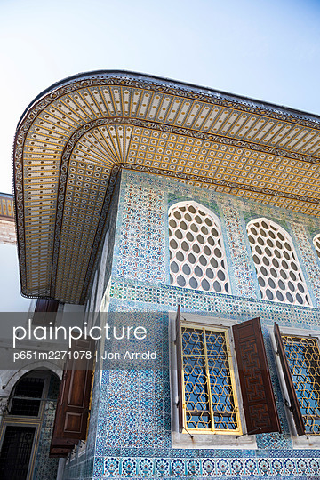 The Harem, Topkapi Palace, Istanbul, Turkey - p651m2271078 by Jon Arnold