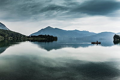 Boat on the Walchensee - p248m1051804 by BY