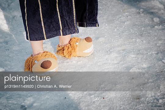 Beim Eisbaden - p1319m1149920 von Christian A. Werner