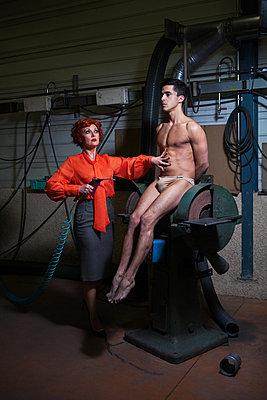 Folter - p1081m1039231 von Cédric Roulliat