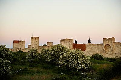 Stadtmauer in Visby - p972m1333457 von Felix Odell