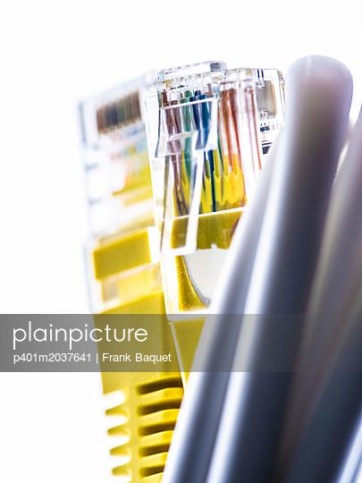 Ethernetkabel - p401m2037641 von Frank Baquet