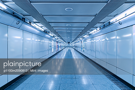 Underground Walkway - p1100m2090813 by Mint Images