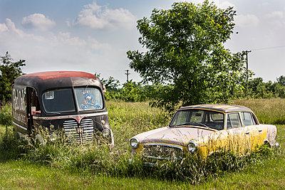 Wrecked cars - p1691m2288600 by Roberto Berdini Bokeh