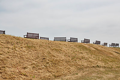 Great Britain, Benches  - p1612m2223509 by Heidi Coppock-Beard