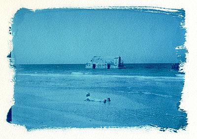 Am Strand toben - p4170055 von Pat Meise
