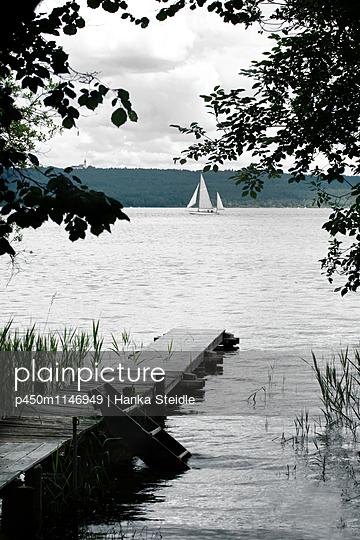 Badesteg   - p450m1146949 von Hanka Steidle