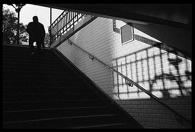 Paris, exit of a tube station - p1654m2253748 by Alexis Bastin