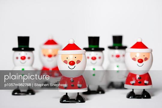 Weihnachtsdekoration - p1057m982768 von Stephen Shepherd
