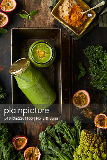 Vegetable smoothie - p1640m2261100 by Holly & John