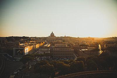 Rom von oben - p1345m1194832 von Alexandra Kern