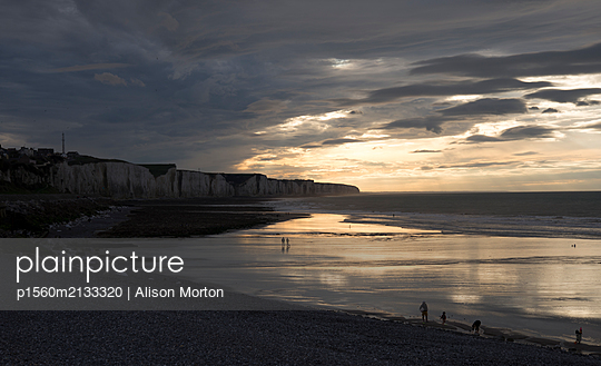French Beach - p1560m2133320 by Alison Morton