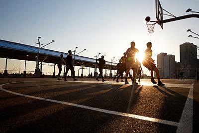 Basketballspieler - p1411m2057742 von Florent Drillon