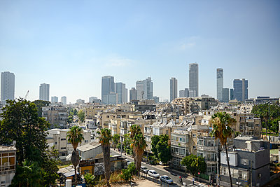 Skyline von Tel Aviv - p1267m1514257 von Wolf Meier