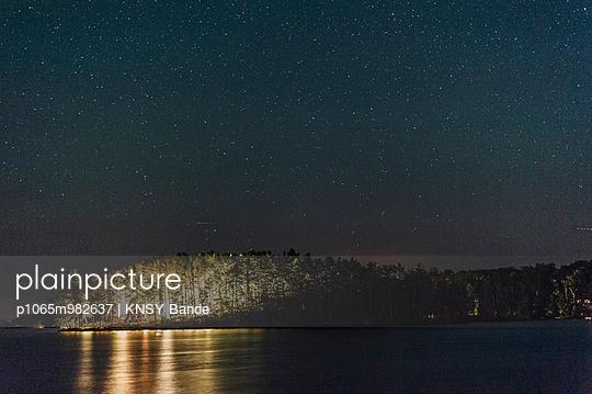 night at Chandos Lake - p1065m982637 by KNSY Bande