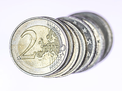 2 Euro Münzen - p401m1362447 von Frank Baquet