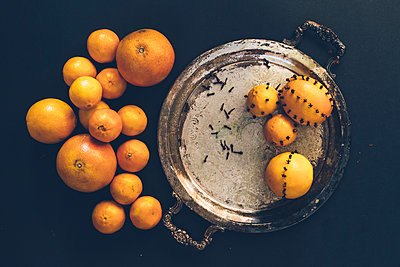 Cloves and Citrus Fruit - p1262m1083677 by Maryanne Gobble