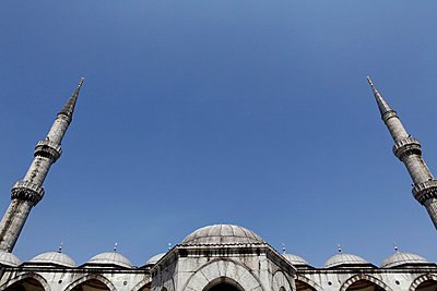 Blaue Moschee - p2410383 von L.B. Jeffries