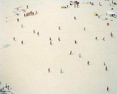 Soccer game on a beach Copacabana Rio de Janeiro Brazil - p31222209 by Per Eriksson