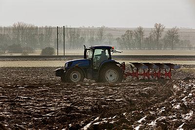 Traktor auf dem Feld - p248m982878 von BY