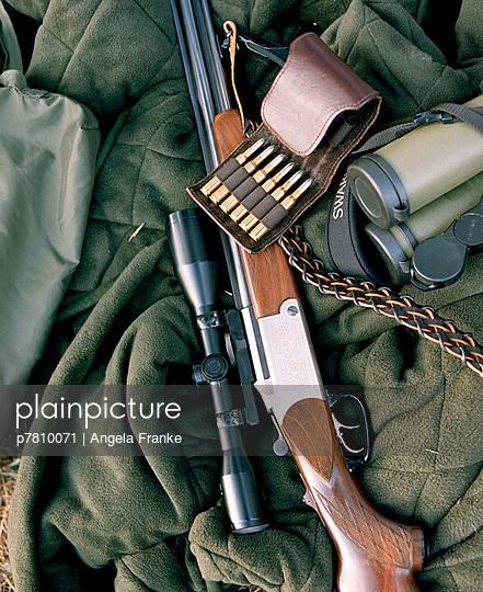 Jagdstillleben - p7810071 von Angela Franke