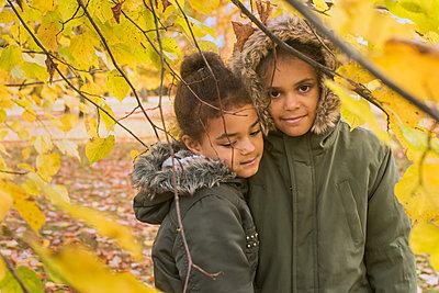 Sisters - p1323m1190291 by Sarah Toure