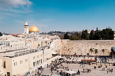 Old city Jerusalem - p795m1532019 by JanJasperKlein