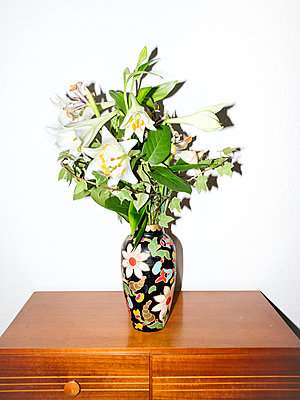 weiße Lilien - p1059m1558932 von Philipp Reiss