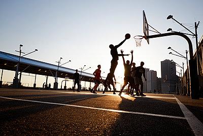 Basketballspieler - p1411m2057761 von Florent Drillon