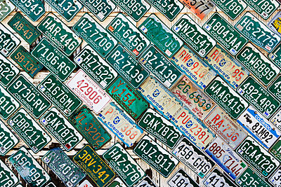 Colorado license plates. - p343m1554746 by Ron Koeberer