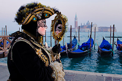 Carnival of Venice, Italy 2012. - p343m700830 by Guillem Lopez