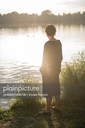 Ruhe am See - p1422m1486736 von Vivian Rutsch