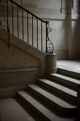 Stairs - p1028m1138011 by Jean Marmeisse