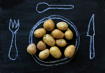 Potatoes - p450m902389 by Hanka Steidle