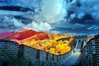 Chinesische Mauer - p1653m2232289 von Vladimir Proshin