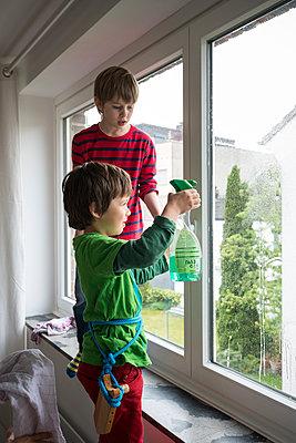 Fensterputzer - p305m1091367 von Dirk Morla