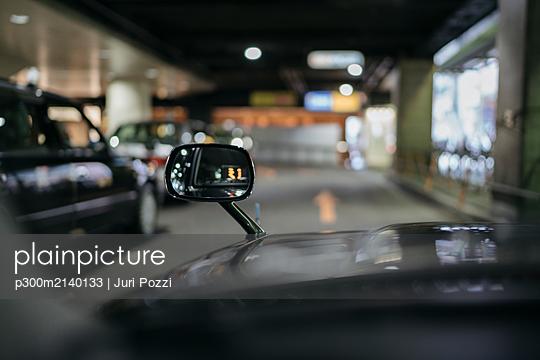 Detail of a taxi - p300m2140133 by Juri Pozzi