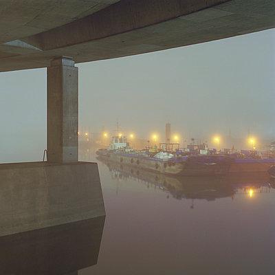 Köhlbrandbrücke, Hamburg, Germany - p1214m1017171 by Janusz Beck