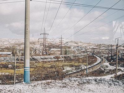 Zugreise, Krasnojarsk - p1425m1492545 von JAKOB SCHNETZ