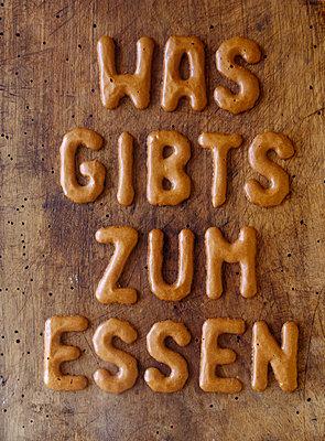 Buchstabenkekse - p2370072 von Thordis Rüggeberg